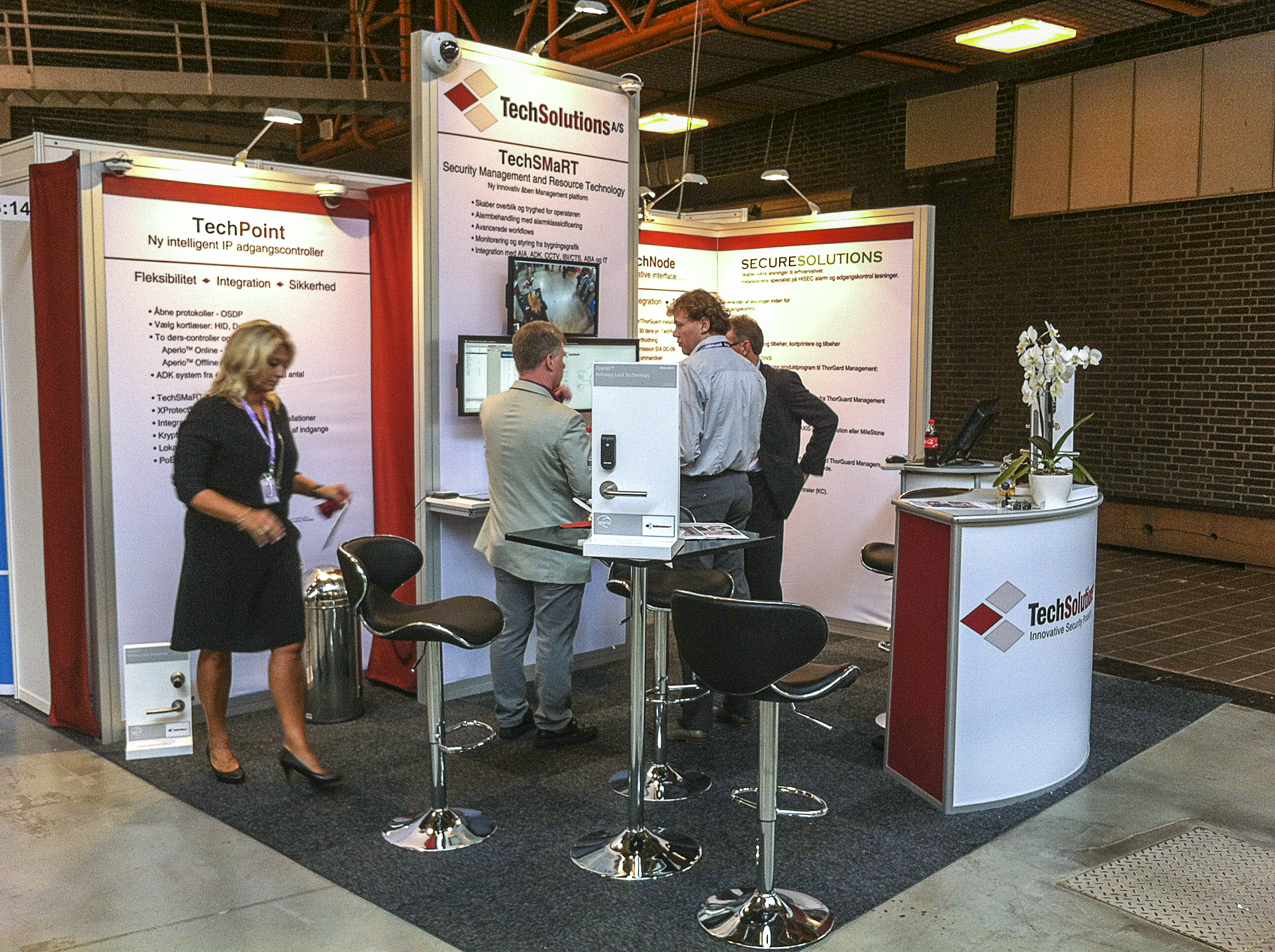 TechSolutions at SecurityUser Expo2013